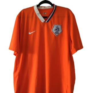 NETHERLANDS 2008/2010 HOME SHIRT [L]