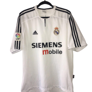 REAL MADRID 2003/2004 HOME FOOTBALL SHIRT