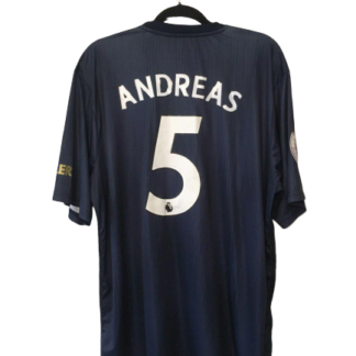 MANCHESTER UNITED 2018/2019 THIRD SHIRT #5 ANDREAS [BNWT]