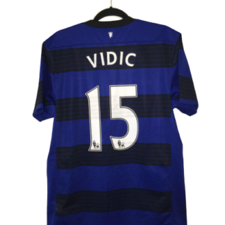 MANCHESTER UNITED 2011/2013 AWAY SHIRT #15 VIDIC