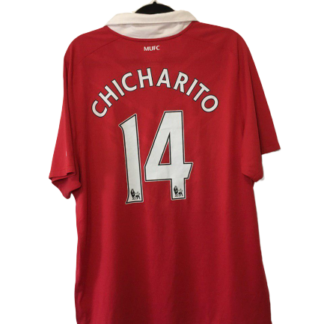 MANCHESTER UNITED 2010/2011 HOME SHIRT#14 CHICHARITO