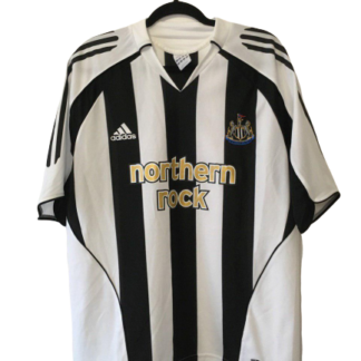 NEWCASTLE UNITED 2005/2007 HOME SHIRT [L]