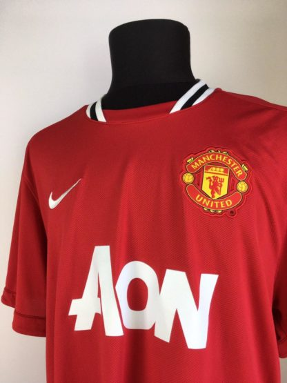 MANCHESTER UNITED 2011/2012 HOME SHIRT