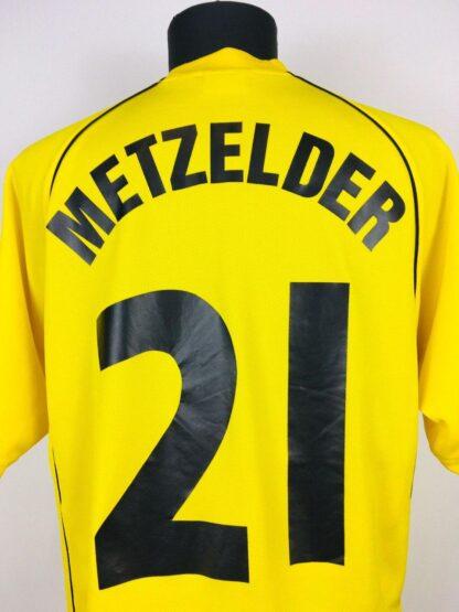 BORUSSIA DORTMUND 2001/2002 UCL SHIRT #21 METZELDER