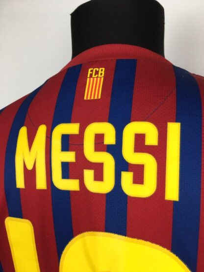 BARCELONA 2011/2012 HOME SHIRT #10 MESSI