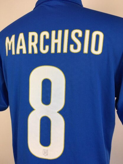 ITALY 2014/2015 HOME SHIRT #8 MARCHISIO