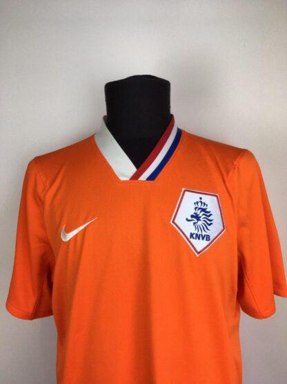 NETHERLANDS 2008/2010 HOME SHIRT [L]