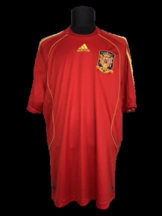 SPAIN 2008/2010 HOME SHIRT
