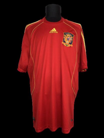 SPAIN 2009/2010 HOME SHIRT