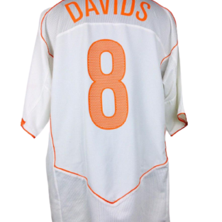 NETHERLANDS 2004/2006 AWAY SHIRT #8 DAVIDS