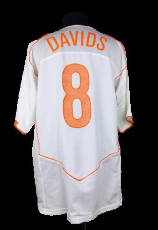 NETHERLANDS 2004/2006 AWAY SHIRT #8 DAVIDS