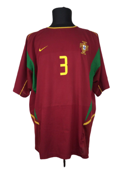 PORTUGAL 2002/2004 HOME SHIRT #3 ABEL XAVIER
