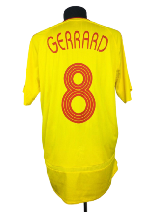 LIVERPOOL 2006/2007 AWAY SHIRT #8 GERRARD