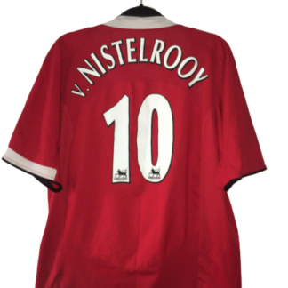 MANCHESTER UNITED 2004/2006 HOME SHIRT#10 VAN NISTELROOY