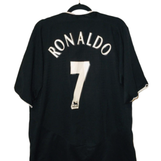 MANCHESTER UNITED 2003/2005 AWAY SHIRT #7 RONALDO