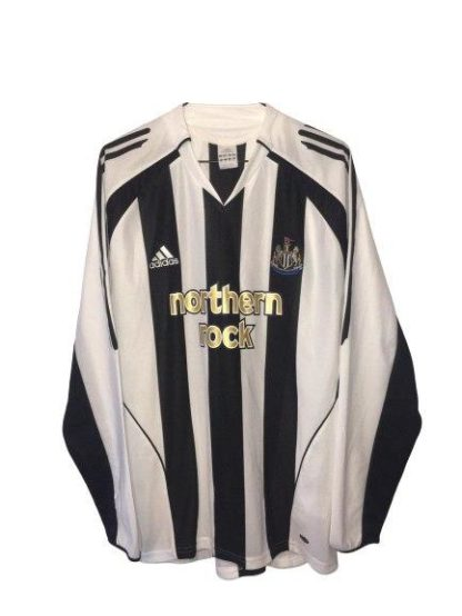 NEWCASTLE UNITED 2005/2007 HOME SHIRT [L/S]