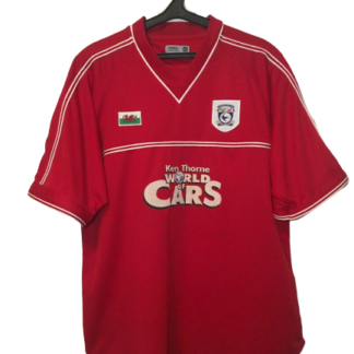 CARDIFF CITY 2001/2002 THIRD SHIRT