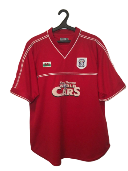 CARDIFF CITY 2001/2002 THIRD SHIRT