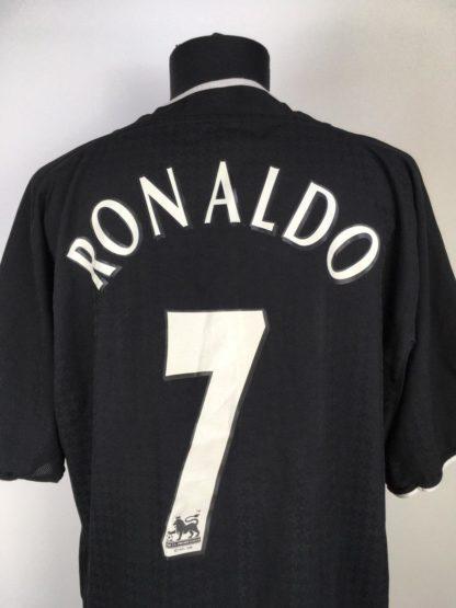 MANCHESTER UNITED 2003/2005 AWAY SHIRT #7 RONALDO