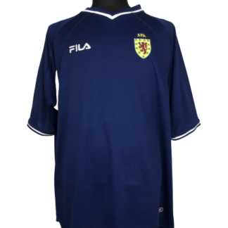 SCOTLAND 2000/2002 HOME SHIRT