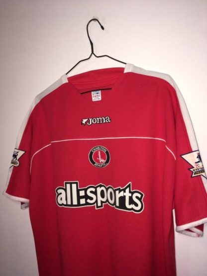 CHARLTON ATHLETIC 2004/2005 HOME SHIRT#18 KONCHESKY