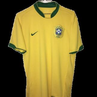 BRAZIL 2006/2008 HOME SHIRT