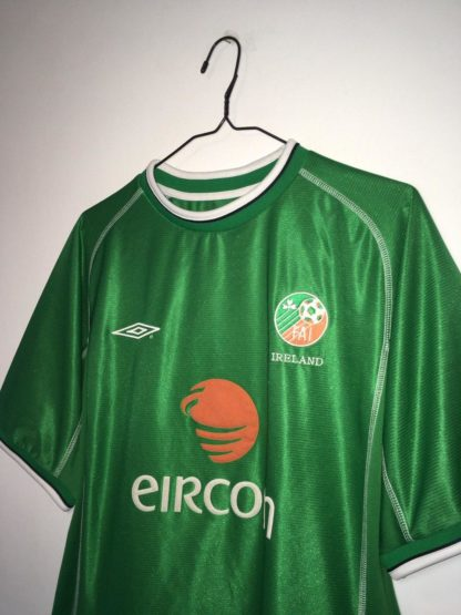 IRELAND 2001/2003 HOME SHIRT