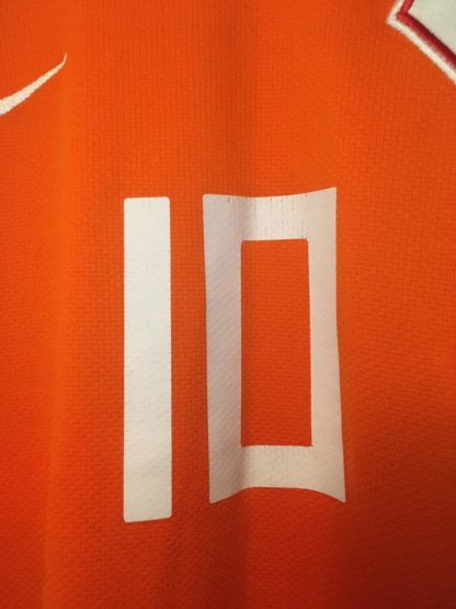 NETHERLANDS 2008/2010 HOME SHIRT #10 SNEIJDER