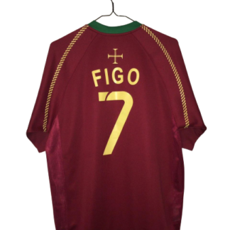 PORTUGAL 2006/2008 HOME SHIRT #7 FIGO