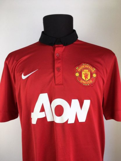 MANCHESTER UNITED 2013/2014 HOME SHIRT [L]