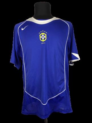 BRAZIL 2004/2006 AWAY SHIRT [M]