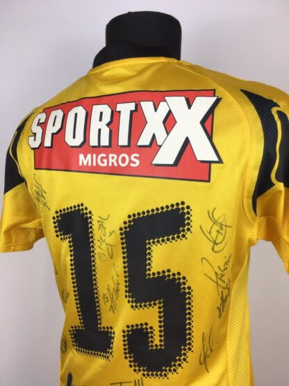 BSC YOUNG BOYS 2007/2008 HOME SHIRT [SIGNED]