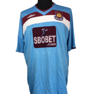 WEST HAM 2008/2009 AWAY SHIRT