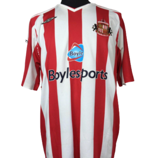 SUNDERLAND 2007/2008 HOME SHIRT