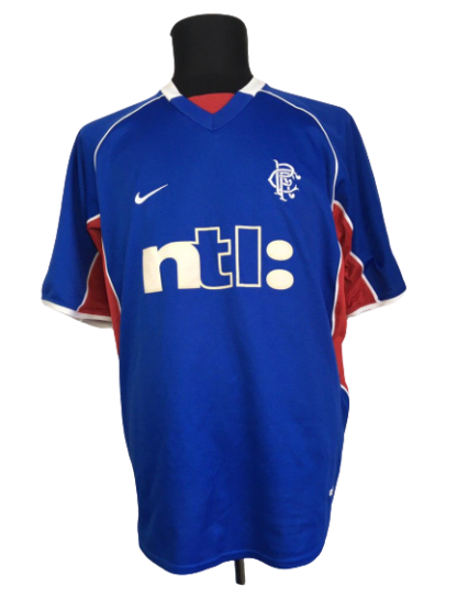 RANGERS 2001/2002 HOME SHIRT