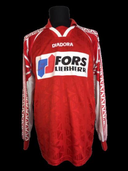 FC BIEL-BIENNE 1996/1997 HOME SHIRT [MATCH WORN] [L/S]