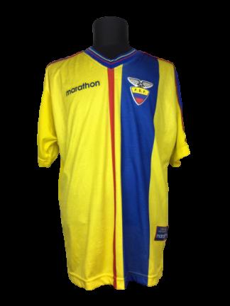 ECUADOR 1998/2001 HOME SHIRT
