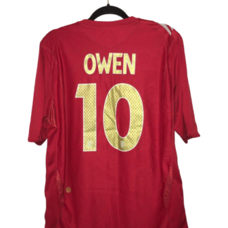 ENGLAND 2006/2008 AWAY SHIRT #10 OWEN