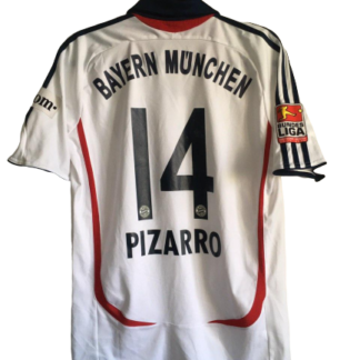 BAYERN MUNICH 2006/2007 AWAY SHIRT #14 PIZARRO