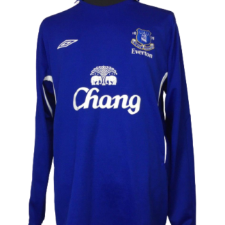 EVERTON 2005/2006 HOME SHIRT [L/S]