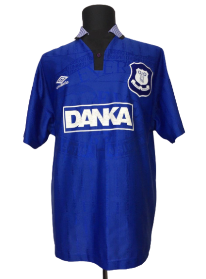 EVERTON 1995/1997 HOME SHIRT