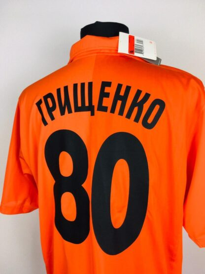 SHAKHTAR 2008/2009 HOME SHIRT #80 GRYSCHENKO [BNWT]
