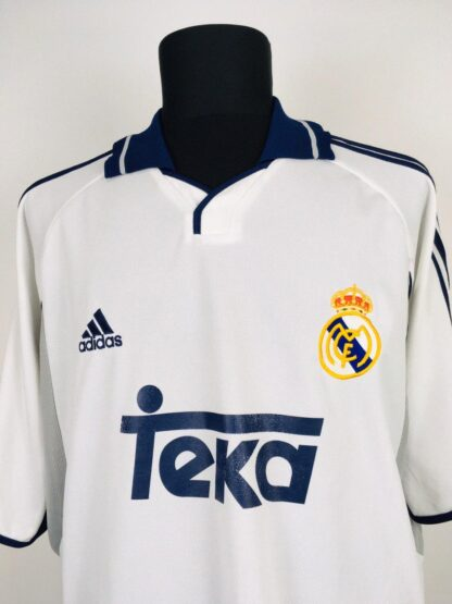 REAL MADRID 2000/2001 HOME SHIRT