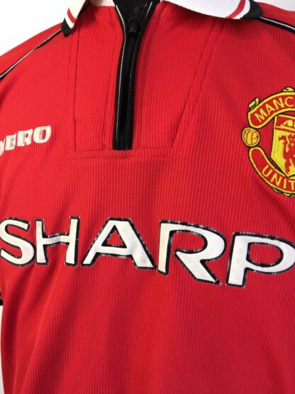 MANCHESTER UNITED 1998/2000 HOME SHIRT