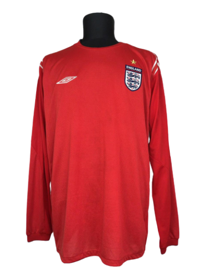 ENGLAND 2004/2006 AWAY SHIRT [L/S]