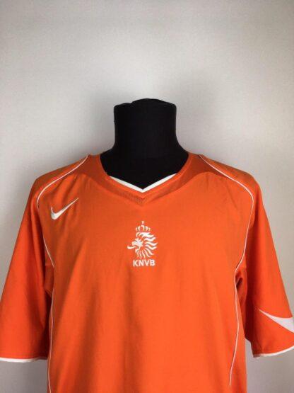 NETHERLANDS 2004/2006 HOME SHIRT [XL]
