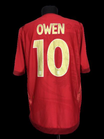 ENGLAND 2006/2008 AWAY SHIRT #10 OWEN