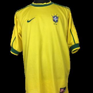 BRAZIL 1998/2000 HOME SHIRT