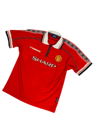 MANCHESTER UNITED 1998/2000 HOME SHIRT [YOUTHS]
