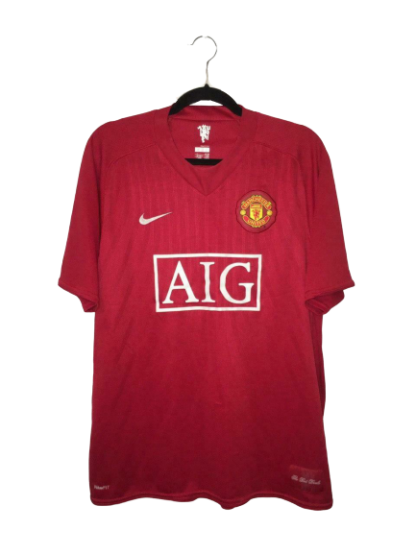 MANCHESTER UNITED 2007/2009 HOME SHIRT